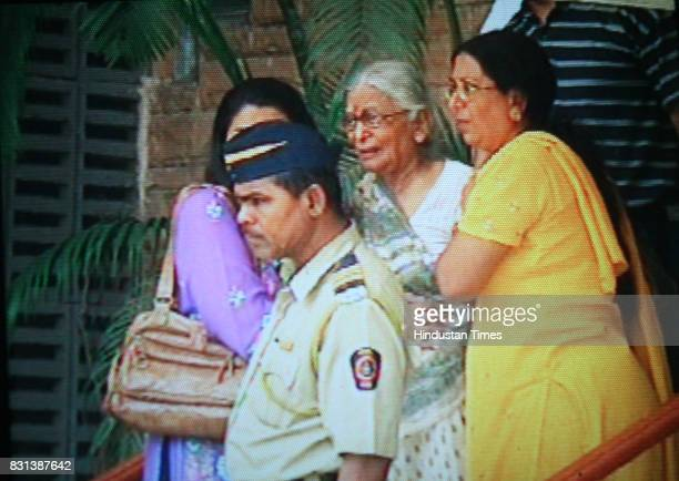 Murder Senior Citizen Murdered The house at Juhu in which the senior citizen was gagged abd tied up three men including her former domestic help and...