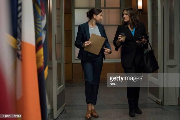 UNIT Murdered At A Bad Address Episode 21006 Pictured Jamie Gray Hyder as Katriona Kat Azar Tamin Mariska Hargitay as Captain Olivia Benson