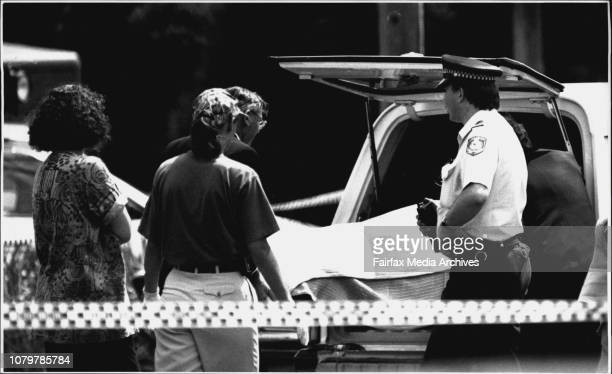 Murdered Cab driver Krzysztof Ablamowics45 from Bondifound in the boot of the cab parked in beach road CoogeeThe murder scene January 31 1993