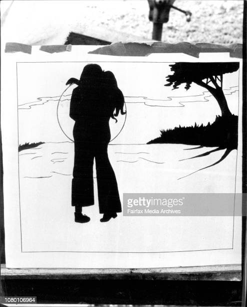 Murdered girl Julie Thrussell's paintings at parents home in Cressy St Ryde January 10 1978