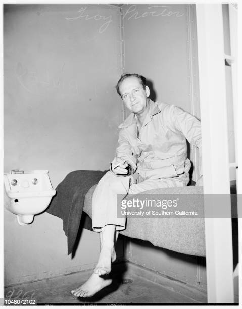 Murdered wife 27 August 1951 Troy Proctor 47 yearsDorothy Stewart Palmer Proctor Supplementary material reads 'Ben Aeddick Newport Beach Proctor...