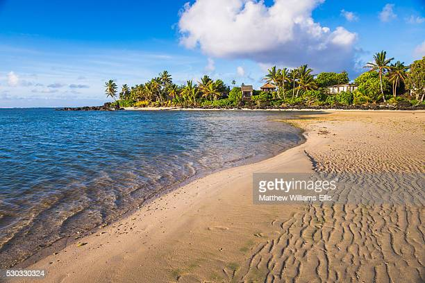 Muri Beach at sunrise, Rarotonga, Cook Islands, South Pacific, Pacific