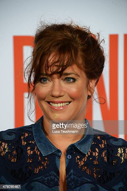 Muriel Baumeister attends 'Banklady' Premiere at Kino International on March 17, 2014 in Berlin, Germany.