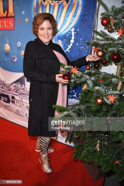 Muriel Baumeister attends the 16th Roncalli Weihnachtscircus at Tempodrom on December 19, 2019 in Berlin, Germany.