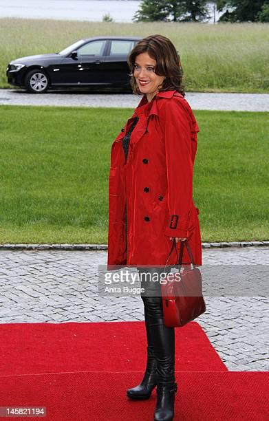 Muriel Baumeister attends the '40th International Emmy Awards - Semi Final Hosting' reception at Villa Borsig on June 6, 2012 in Berlin, Germany.