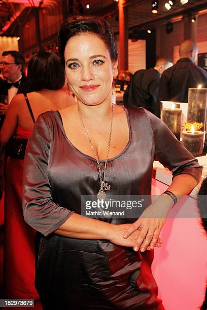Muriel Baumeister attends the After Show Party of the 'Deutscher Fernsehpreis 2013' at Coloneum on October 2, 2013 in Cologne, Germany.