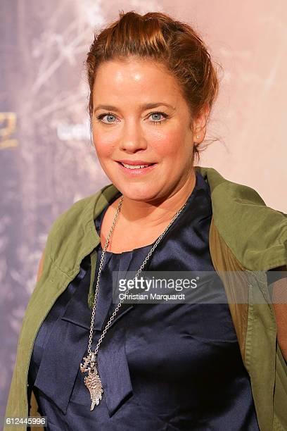 Muriel Baumeister attends the 'Das Kalte Herz' premiere at Kino International on October 4, 2016 in Berlin, Germany.