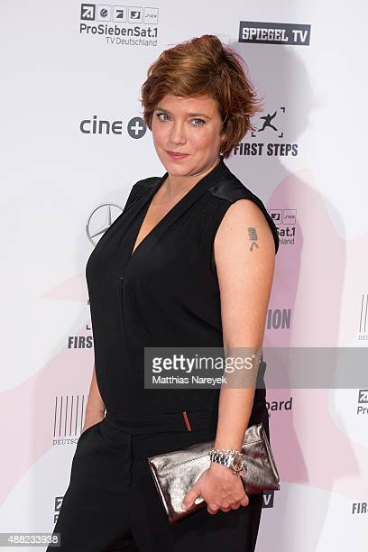 Muriel Baumeister attends the First Steps Awards 2015 at Stage Theater on September 14, 2015 in Berlin, Germany.