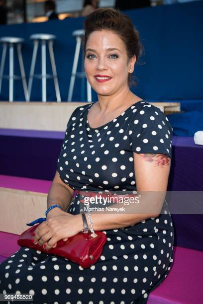 Muriel Baumeister attends the Summer Party of the German Producers Alliance on June 7, 2018 in Berlin, Germany.