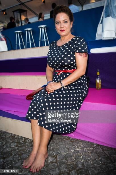 Muriel Baumeister attends the Summer Party of the German Producers Alliance on June 7 2018 in Berlin Germany