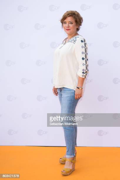 Muriel Baumeister attends the ZDF reception during the Munich Film Festival at Hugo's on June 27 2017 in Munich Germany