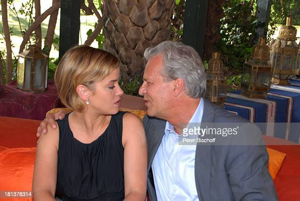 Muriel Baumeister TVEhemann Peter Sattmann ZDFReihe Kreuzfahrt ins Glück Folge Nr 9 Marokko Villa Bled Targui Marrakesch Marokko Nordafrika Afrika...