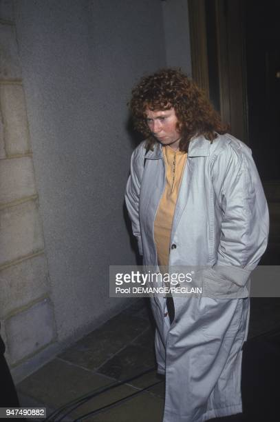 Muriel Bolle Arrives At Dijon Courthouse For The First Day Of The Jean Marie Villemin s Trial After He Killed Bernard Laroche Dijon November 3 1993
