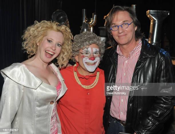 Muriel Brugman Mark 'Grandma' Gindick Richard Thomas attend 34th season Big Apple Circus Under the Big Top in Damrosch Park on October 23 2011 in New...