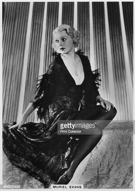 Muriel Evans American film actress c1938 Muriel Evans appeared in numerous films in the 1930s and is best known for her roles in westerns Cigarette...