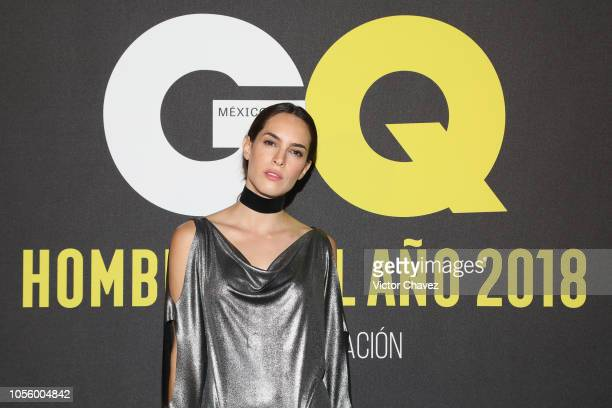 Muriel Hernandez Perez attends GQ Mexico Men of the Year Awards 2018 at Centro Cultural Roberto Cantoral on October 31 2018 in Mexico City Mexico