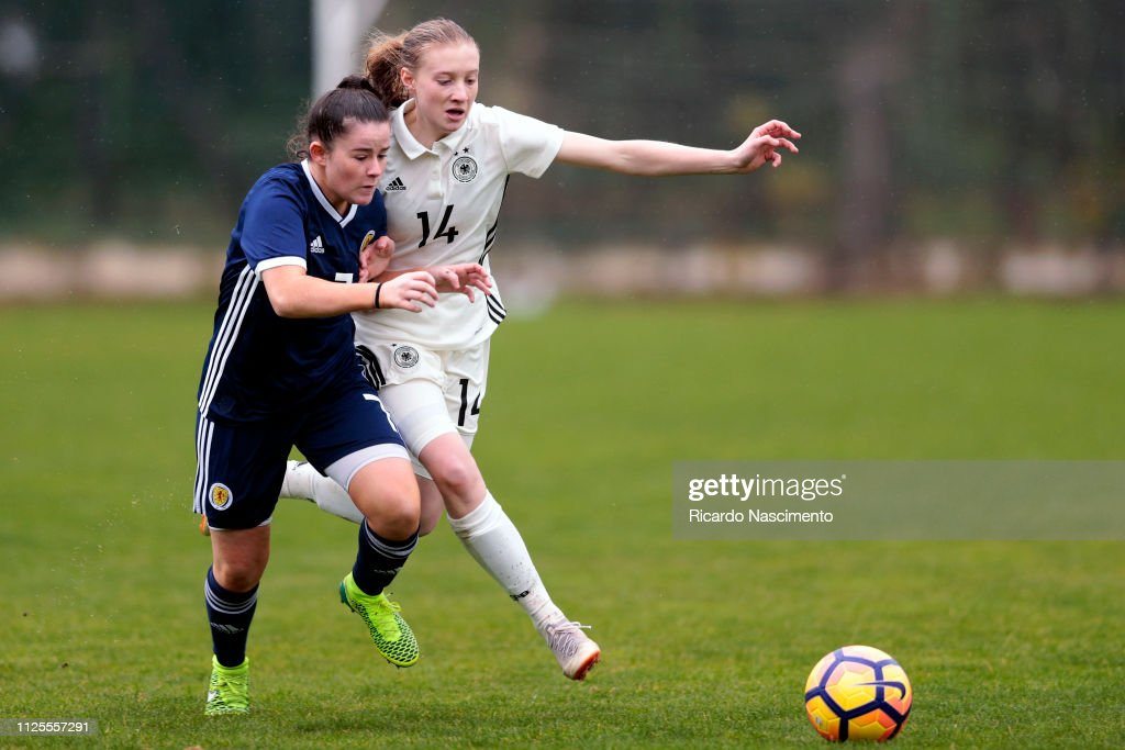 PRT: U16 Girl's Scotland v U16 Girl's Germany - UEFA Development Tournament