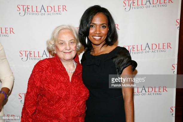 Muriel Siebert and Suzanne Shank attend 'Stella by Starlight' 60th Anniversary Gala Benefit for the STELLA ADLER STUDIO OF ACTING at Private...