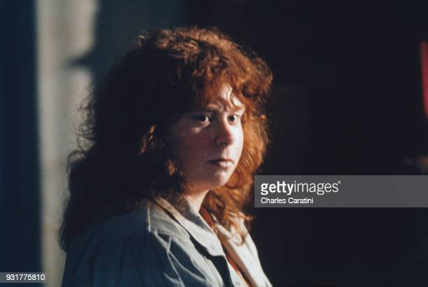 Murielle Bolle at the crown court of Côte d'Or, Dijon, France, 3rd December 1993. Murielle Bolle is testifying in the trial of Jean-Marie Villemin...