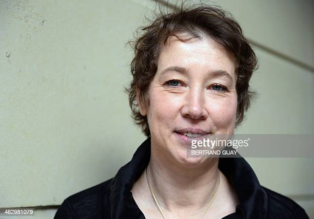 Murielle Ravey nurse and author of the book 'In Amenas Histoire d'un piege' about the seizure of the In Amenas desert gas plant in Algeria in 2013...