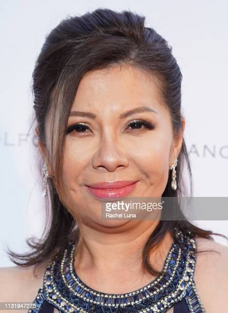 Murine Tsui attends the Cinémoi 2019 Oscar Party on February 24 2019 in Beverly Hills California