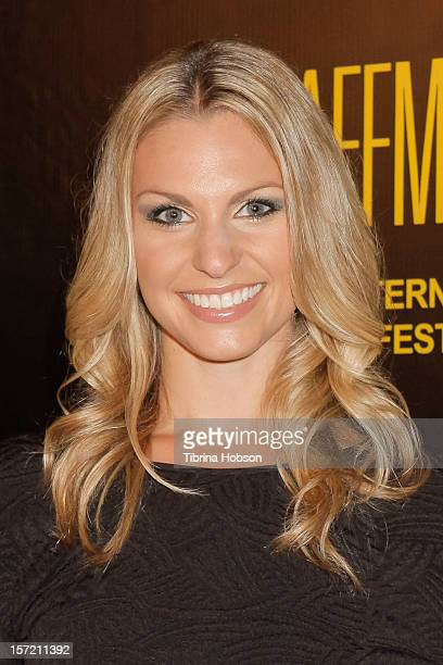 Murisa Harba attends the 'Lost And Found In Armenia' Los Angeles premiere at the Egyptian Theatre on November 29 2012 in Hollywood California