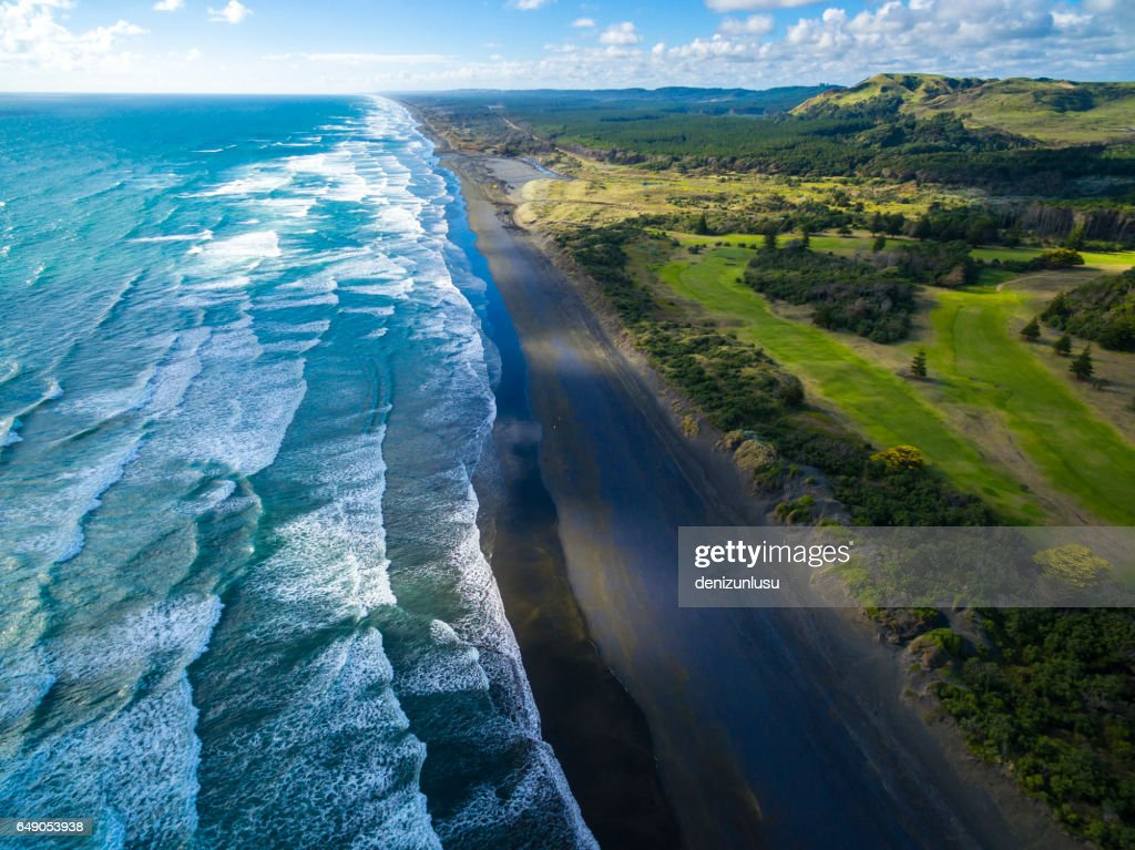 Muriwai Beach : Stock Photo