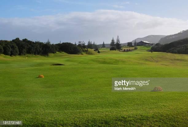 muriwai golf club - ゴルフリンクス ストックフォトと画像