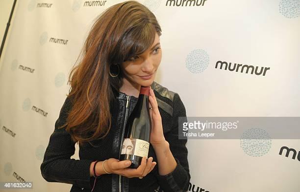 Murmur Cofounder Julia Jackson attends the Murmur APP Launch San Francisco at Trick Dog on January 15 2015 in San Francisco California