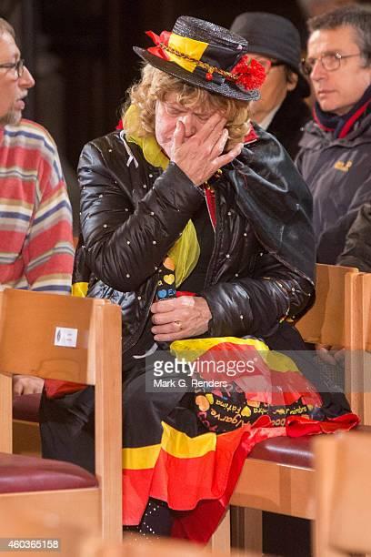 Murner attends the funeral of Queen Fabiola of Belgium at Notre Dame Church on December 12, 2014 in Laeken, Belgium.