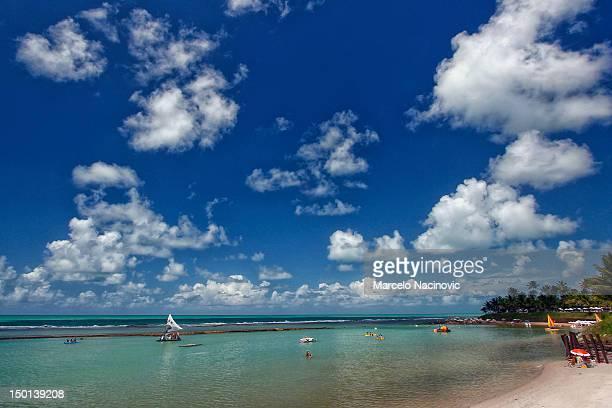 muro alto hotels in recife, pernambuco - porto galinhas stock photos and pictures