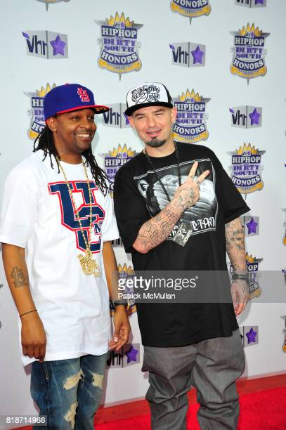 Murphy Lee and Paul Wall attend 2010 VH1 Hip Hop Honors The Dirty South at Hammerstein Ballroom on June 3 2010