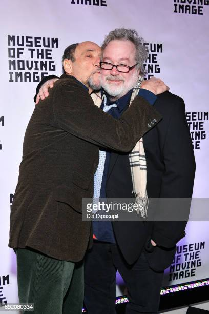 F Murray Abraham and Tom Hulce attend the Museum of the Moving Image Salute to Annette Bening at 583 Park Avenue on December 13 2017 in New York City
