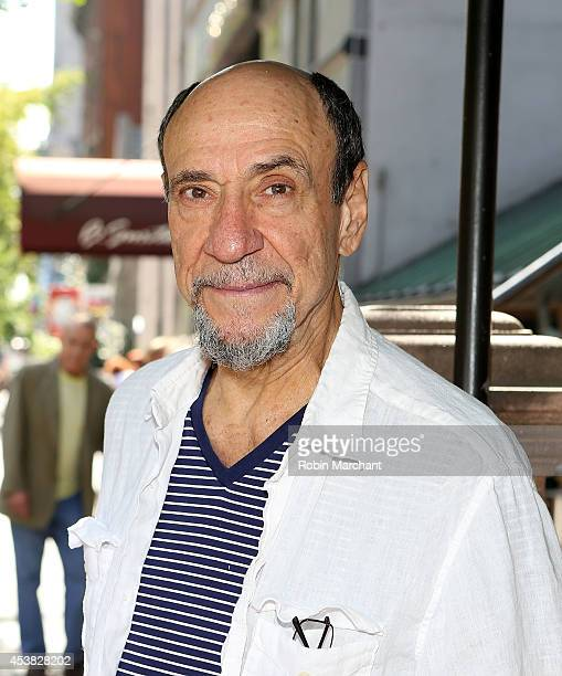 """Murray Abraham attends the """"It's Only A Play"""" Cast Photocall at Joe Allen Restaurant on August 19, 2014 in New York City."""