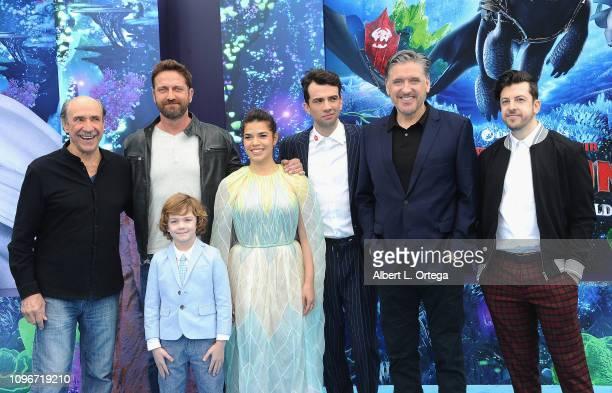 Murray Abraham, Gerard Butler, AJ Kane, America Ferrera, Jay Baruchel, Craig Ferguson, and Christopher Mintz-Plasse arrive for Universal Pictures and...