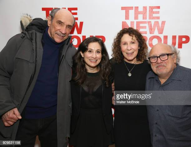 F Murray Abraham Lucy Devito Rhea Perlman and Danny Devito attend The New Group presents the New York Premiere Opening Night of David Rabe's for Good...