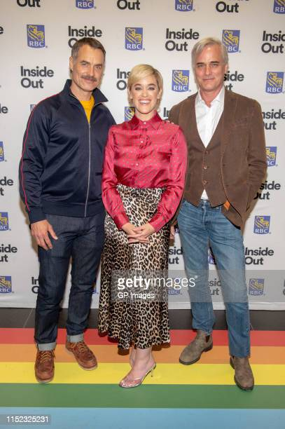 """Murray Bartlett, Lauren Morelli and Paul Gross attend 2019 Inside Out LGBT Film Festival - Screening Of """"Tales of the City"""" held at TIFF Bell..."""
