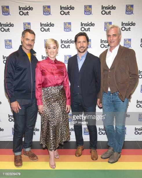 """Murray Bartlett, Lauren Morelli, Stéphane Cardin and Paul Gross attend 2019 Inside Out LGBT Film Festival - Screening Of """"Tales of the City"""" held at..."""