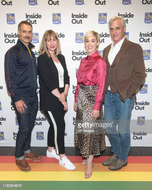 """Murray Bartlett, Rachel Giese, Lauren Morelli and Paul Gross attend 2019 Inside Out LGBT Film Festival - Screening Of """"Tales of the City"""" held at..."""