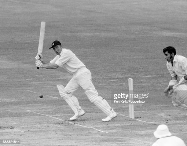 JT Murray batting for Middlesex during the Gillette Cup Final between Middlesex and Lancashire at Lord's Cricket Ground London 6th September 1975 The...