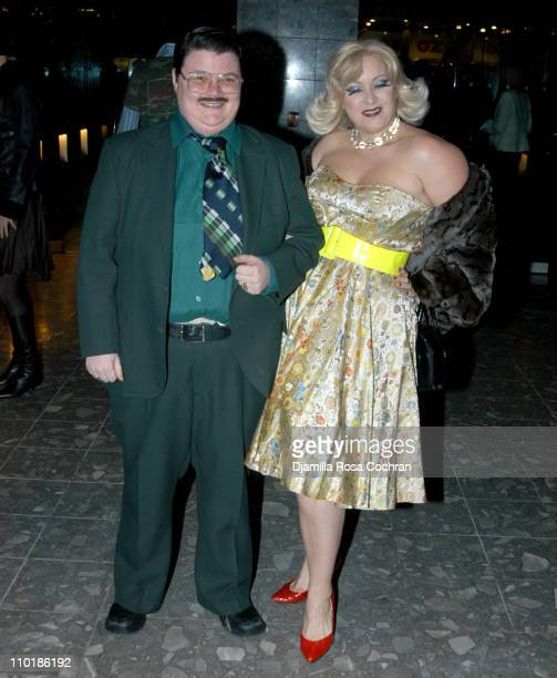 Murray Hill and Dirty Martini during Richie Rich Hosts Mao Magazine Party at Paramount Hotel at Paramount Hotel in New York City New York United...