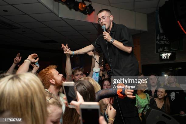 Murray Matravers of Easy Life performs on stage at Brudenell Social Club during Live At Leeds festival on May 04 2019 in Leeds England