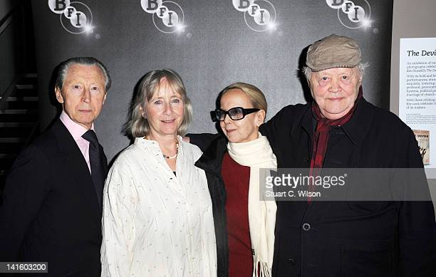 Murray Melvin Gemma Jones Georgina Hale and Dudley Sutton attend a reunion of the cast of The Devils in Memory of Director Ken Russell at BFI...