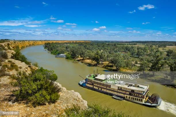 Murray Princess paddle boat on Murray River