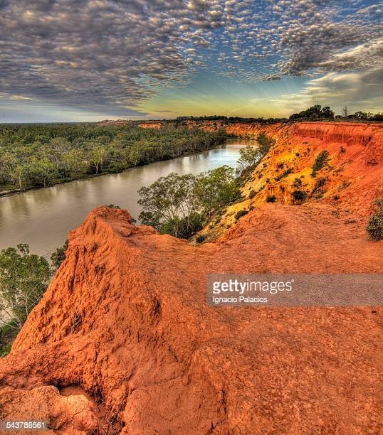 Murray River at sunset, Murray River National Park