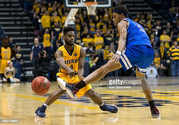 Murray State guard Jonathan Stark makes a pass during an NCAA basketball game between the Murray State Racers and Tennessee State Tigers on December...