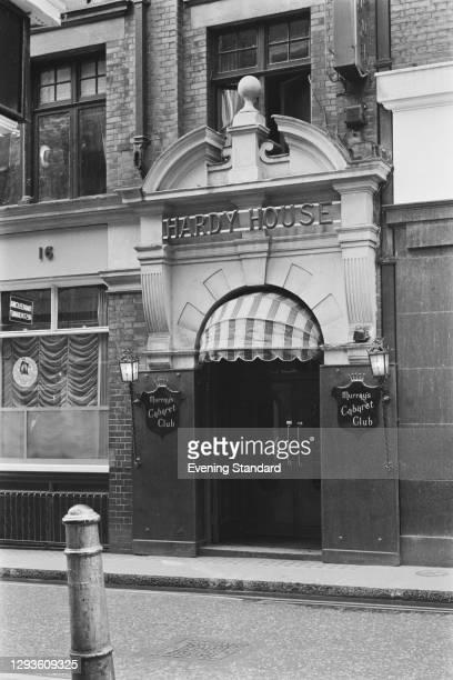 Murray's Cabaret Club at Hardy House in Beak Street, Soho, London, UK, May 1968.