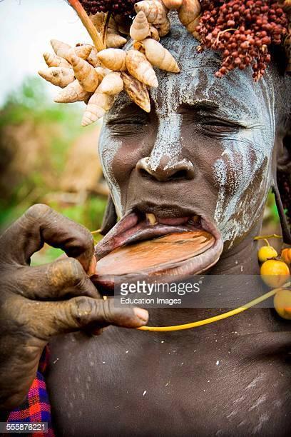 Mursi Tribe Mago National Park Ethiopia