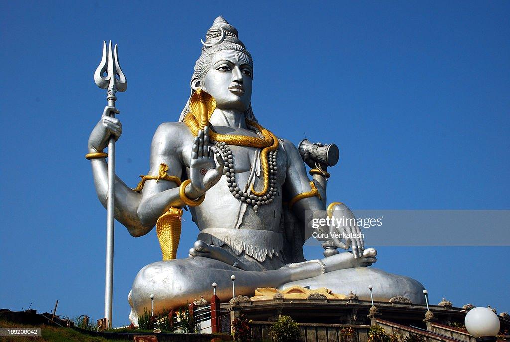Murudeshwara Siva Idol : Stock Photo