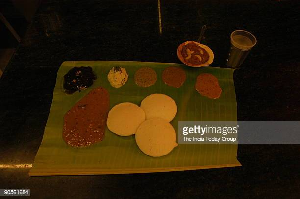 Murugan idli shop is considered among the best to taste South Indian dishes in Chennai Tamil Nadu India